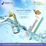 green angelica hair shampo, shampo penumbuh rambut