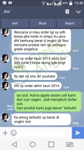 Testimoni Green Angelica, Penumbuh Rambut 13