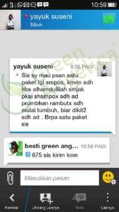 Testimoni Green Angelica, Penumbuh Rambut 5
